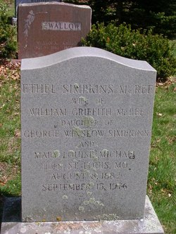 Ethel <i>Simpkins</i> McRee