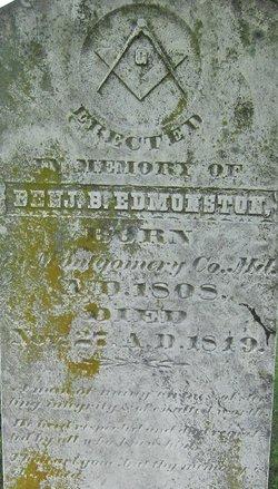 Benjamin B. Edmonston