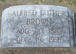 Alfred Luther Brown