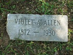 Violet A <i>Cupp</i> Allen