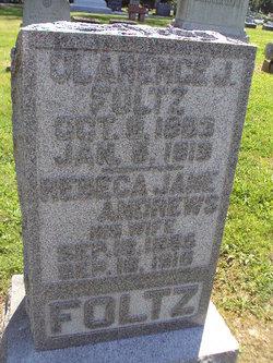 Rebecca Jane <i>Andrews</i> Foltz