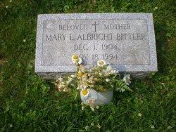 Mary L. <i>Benner</i> Albright Bittler