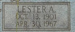 Lester A Jones