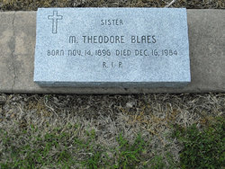 Sr M. Theodore Blaes