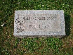 Martha <i>Sloane</i> Dodge