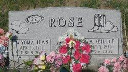 Wyoma Jean Rose