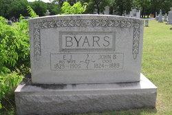 Emily J <i>Snyder</i> Byars