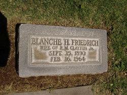 Blanche Henrietta <i>Friedrich</i> Clayton