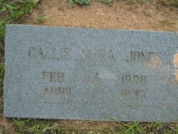 Callie Vera Jones