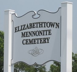 Elizabethtown Mennonite Cemetery