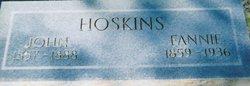 Fannie <i>Smith</i> Hoskins