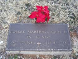 Robert Marshall Cain, Jr
