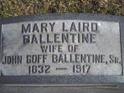 Mary Elizabeth <i>Laird</i> Ballentine