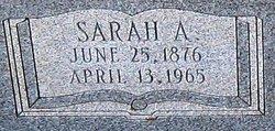 Sarah Ann <i>Champion</i> Throckmorton