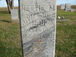 Nettie Mary <i>Harvey</i> Dick