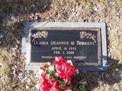 Donna Jeannie <i>Corson</i> Behrent