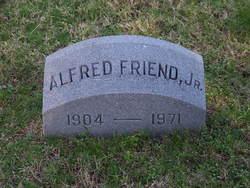 Alfred Friend, Jr