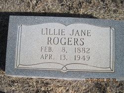 Lillie Jane Ray Rogers