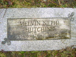 Melvin Nephi Hutchins