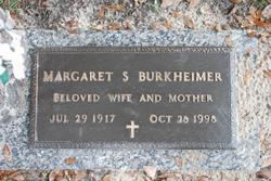 Margaret <i>Smith</i> Burkheimer