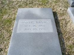 Morris Brown, Sr