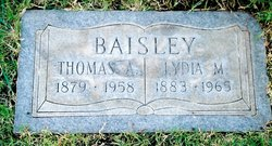 Lydia Mariah <i>Pierce</i> Baisley