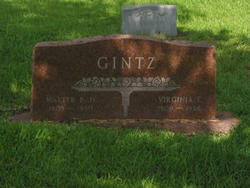 Walter Frederick Gintz, Jr