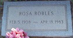 Rosa <i>Franco</i> Robles