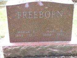Mary A <i>Rickert</i> Freeborn