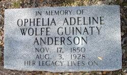 Ophelia Adeline <i>Wolfe</i> Anderson