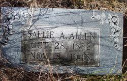 Sallie E. <i>Anderson</i> Allen