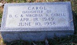 Carol Cabell