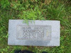 Henry Haston Sandridge
