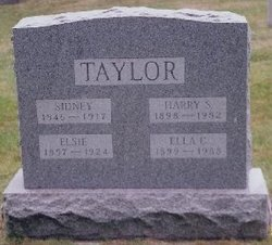 Harry Symon Taylor