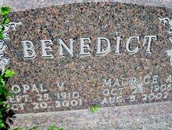 Opal Vera <i>Powell</i> Benedict