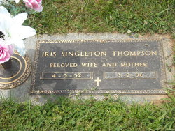 Iris Ellen <i>Singleton</i> Thompson