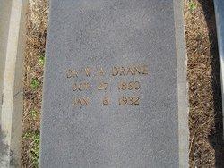 Dr William Arthur Drane