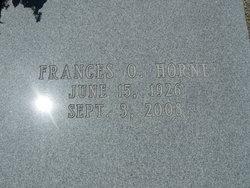 Frances Ophelia <i>Fields</i> Horne