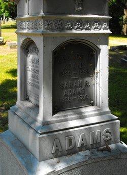 Sarah Rosalie <i>Fuller</i> Adams