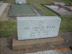 Ada Emilie <i>Danz</i> Wilke
