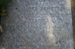 Rebecca Lyon <i>Armstrong</i> Armstrong