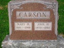 Mary May <i>Catt</i> Carson