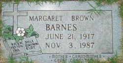 Margaret <i>Brown</i> Barnes