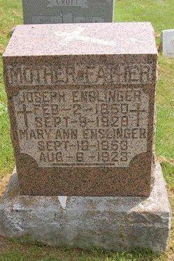 Mary Ann <i>Eve</i> Enslinger