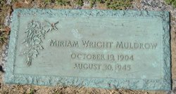 Miriam <i>Wright</i> Muldrow