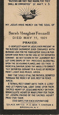Sarah <i>Meagher</i> Fennell