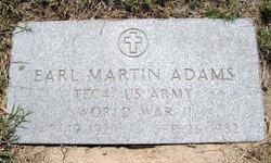 Earl Martin Adams