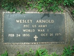 Wesley P Arnold