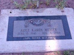 Alice Karen Mester