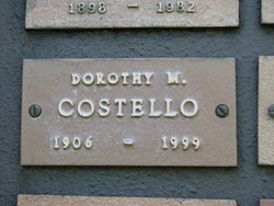 Dorothy M. Costello
